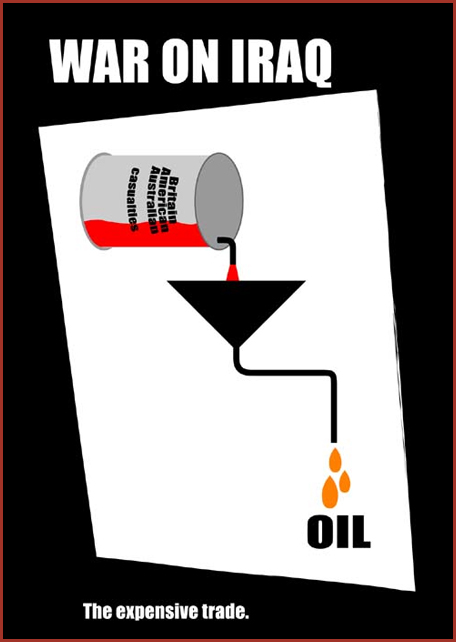 War on iraq oil