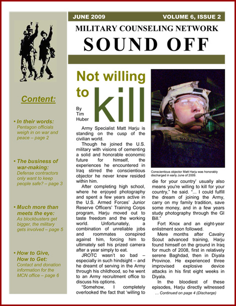 Sound Off - June 2009-1