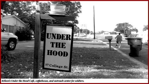 Under the hood - sign outside 2