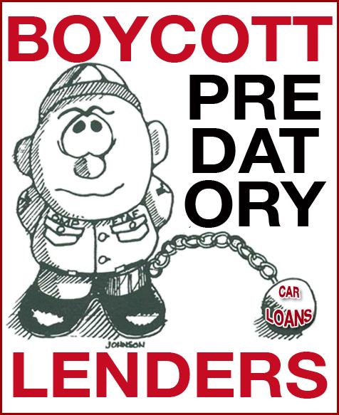 Boycott predotory
