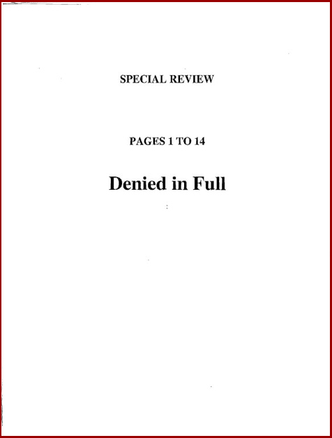 Torture report bush introduction p1