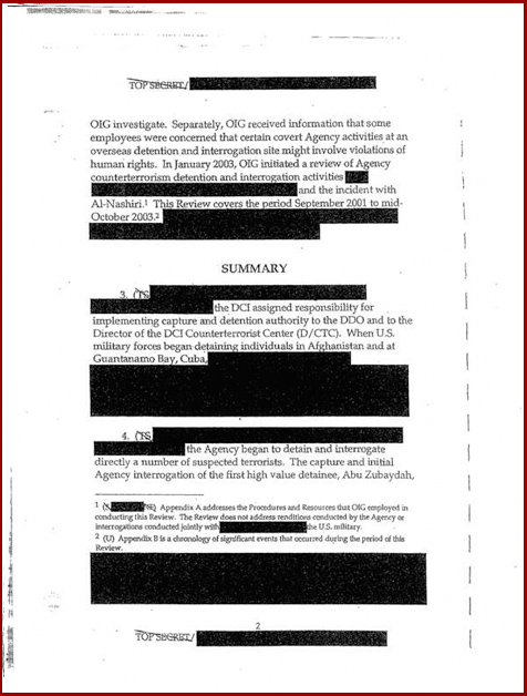 Torture report Obama introduction p2