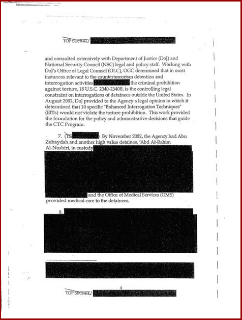 Torture report Obama introduction p4