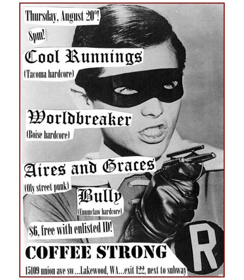 Coffee strong - punk show