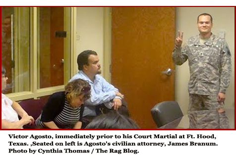 Victor before court martial