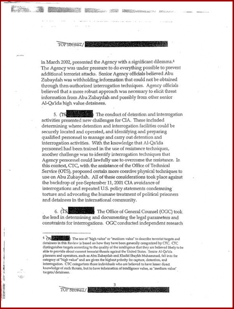 Torture report Obama introduction p3